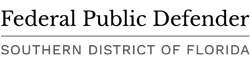 Federal Public Defender of South Florida Logo